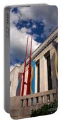 Center For Visual Art Nashville Portable Battery Charger by Susanne Van Hulst