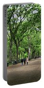Central Park Arbor Walk Spring Portable Battery Charger