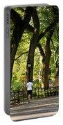 Central Park Jogging Portable Battery Charger