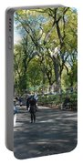Central Park Mall Portable Battery Charger by Rob Hans