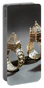 Ceremonial Marriage Rings Portable Battery Charger