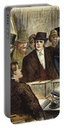 Challenging A Voter, 1872 Portable Battery Charger