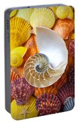 Chambered Nautilus  Portable Battery Charger