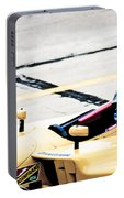 Champ Car Driver Portable Battery Charger