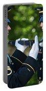 Changing Of Guard At Arlington National Portable Battery Charger