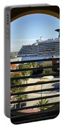 Channelside Tampa Art Deco Portable Battery Charger