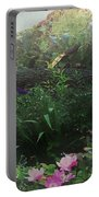 Chaos In Morning Mist Portable Battery Charger