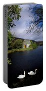 Chapel At Gougane Barra, Co Cork Portable Battery Charger