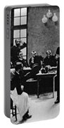 Charcot Demonstrating Hysterical Case Portable Battery Charger