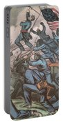 Charge Of The 54th Massachusetts Portable Battery Charger