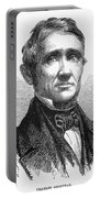 Charles Goodyear /n(1800-1860). American Inventor. Line Engraving, 19th Century Portable Battery Charger