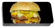 Cheeseburger Portable Battery Charger