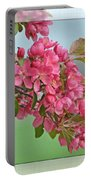 Cherry Blossom Art II Portable Battery Charger