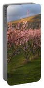Cherry Blossom Pink Portable Battery Charger