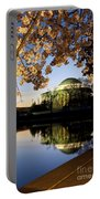 Cherry Blossoms At Dawn Portable Battery Charger