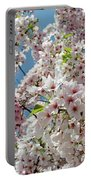 Cherry Blossoms Of The Sky Portable Battery Charger