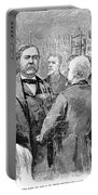 Chester Alan Arthur Portable Battery Charger