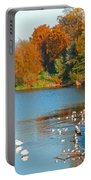 Chester In Autumn Portable Battery Charger