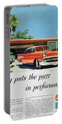 Chevrolet Ad, 1957 Portable Battery Charger