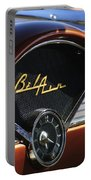 Chevrolet Belair Dashboard Clock And Emblem Portable Battery Charger