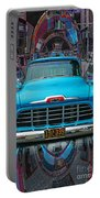 Chevrolet Pick Up Abstract Portable Battery Charger