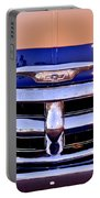 Chevrolet Pickup Truck Grille Emblem Portable Battery Charger by Jill Reger