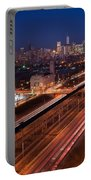 Chicago Illumina Portable Battery Charger by Steve Gadomski