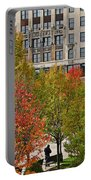 Chicago In Autumn Portable Battery Charger