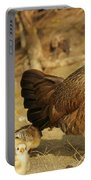 Chicken And Chicks Portable Battery Charger