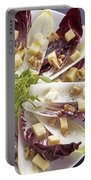 Chicory Salad Portable Battery Charger by Joana Kruse