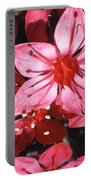 Chihuahua Flower Portable Battery Charger