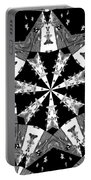 Children Animals Kaleidoscope Black And White Portable Battery Charger