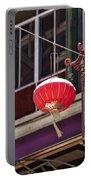 China Town San Francisco Portable Battery Charger by Kelley King