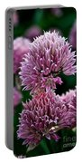 Chive Blossom Portable Battery Charger