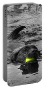 Chocolate Lab Portable Battery Charger