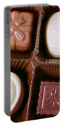Chocolates Closeup Portable Battery Charger