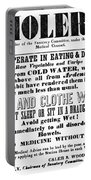 Cholera Broadside 1849 Portable Battery Charger