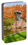 Chopin Monument In The Lazienki Park Portable Battery Charger