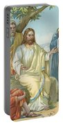 Christ And His Disciples Portable Battery Charger