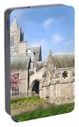 Christ Church Cathedral In Dublin Portable Battery Charger