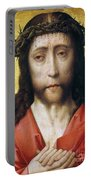 Christ In Crown Of Thorns Portable Battery Charger