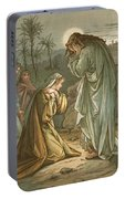 Christ In The Garden Of Gethsemane Portable Battery Charger
