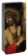 Christ Man Of Sorrows Portable Battery Charger