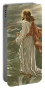 Christ Walking On The Waters Portable Battery Charger