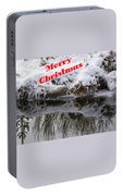 Christmas Along The Creek Portable Battery Charger
