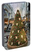 Christmas At The Eaton's Centre Portable Battery Charger