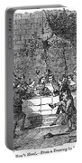 Christmas Feast, 1838 Portable Battery Charger