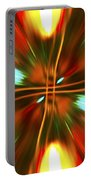 Christmas Light Abstract Portable Battery Charger