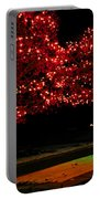 Christmas Lights Red And Green Portable Battery Charger