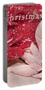 Christmas Poinsettias Portable Battery Charger
